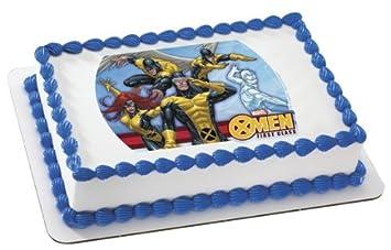 X-Men Edible Cake Topper Decoration: Amazon.com: Grocery & Gourmet Food