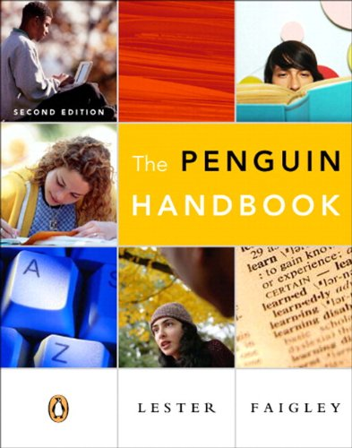 Penguin Handbook (paperbound), The (with Essential Study Card for Grammar and Documentation) (2nd Edition)