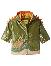 KIDORABLE boys Dinosaur All Weather Waterproof Coat