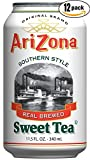 Arizona Sweet Tea, 11.5 FL OZ Can (Pack of 12)