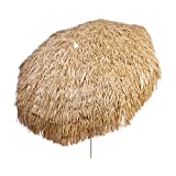 DestinationGear Heininger 1266 Palapa Tiki Brown 6-Feet Patio Pole Umbrella