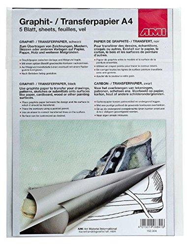 Novità AMI grafite carta formato A4, 5fogli