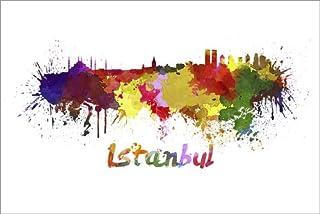 Poster 60 x 40 cm: Istanbul di Editors Choice - Stampa Artistica Professionale, Nuovo Poster Artistico