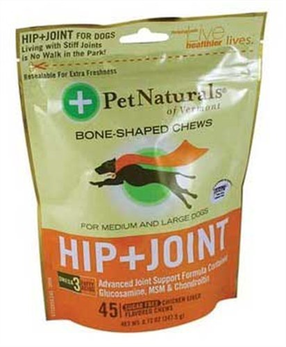 Pet Naturals of Vermont Hip & Joint for Large Dogs 6 Bags