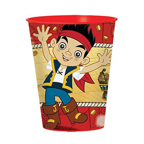 Jake And Neverland Pirates 16oz. Favor Cup (Each) by Amscan