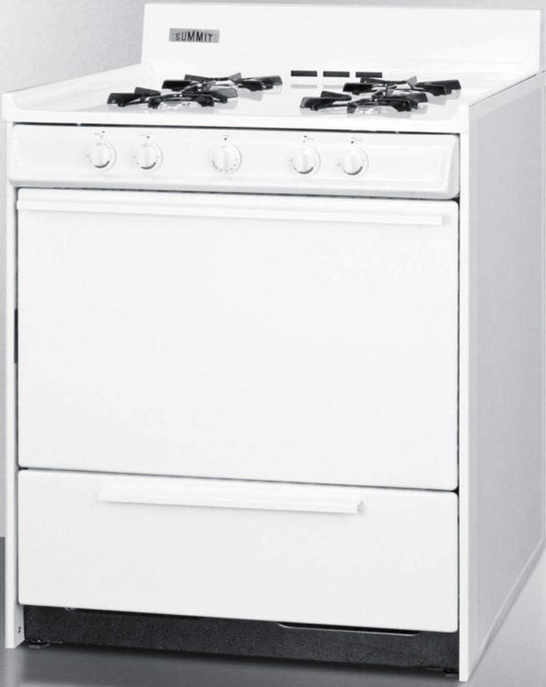 Summit WNM2107 Kitchen Cooking Range White Ranges Appliances ...