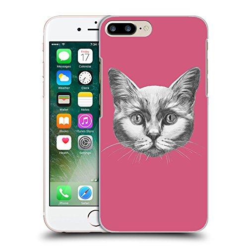 GoGoMobile Coque de Protection TPU Silicone Case pour // Q05110614 Dessin chat Rougir // Apple iPhone 7 PLUS