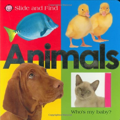 Slide and Find - Animals by Priddy Books (Image #3)