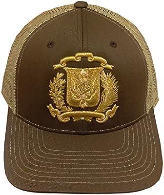 Dominicana república snapback sombrero Dad Vintage Cap, Marrón ...