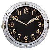 Pendulux Airship Wall Clock Aluminum