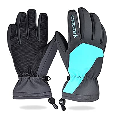 Winter Ski Gloves for Men and Women - Waterproof Snowboard Skiing Full Finger Warm Snow Gloves / Outdoor Windproof Snowproof Camping Hiking Climbing Skiing Gloves 0836