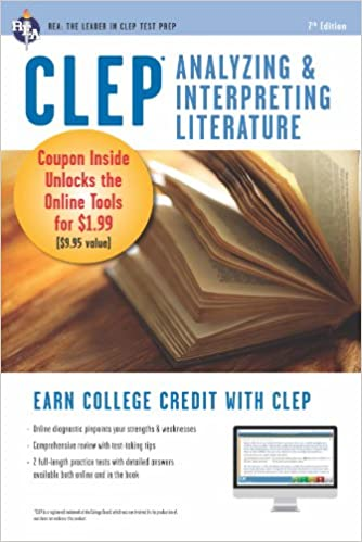 Amazoncom Clep Analyzing  Interpreting Literature Book  Online  Clep Analyzing  Interpreting Literature Book  Online Clep Test  Preparation Th Edition Kindle Edition Essay In English Language also Write My Report On The Great War  Research Paper Essay Format