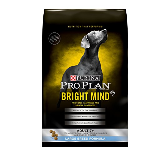 Cheap Purina Pro Plan BRIGHT MIND Adult 7+ Large Breed Formula Senior Dry Food – (1) 30 lb. Bag