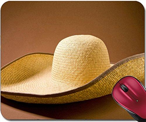 Coastal Sombrero Hat - Liili Mousepad sombrero hat on brown ground Photo 4953445