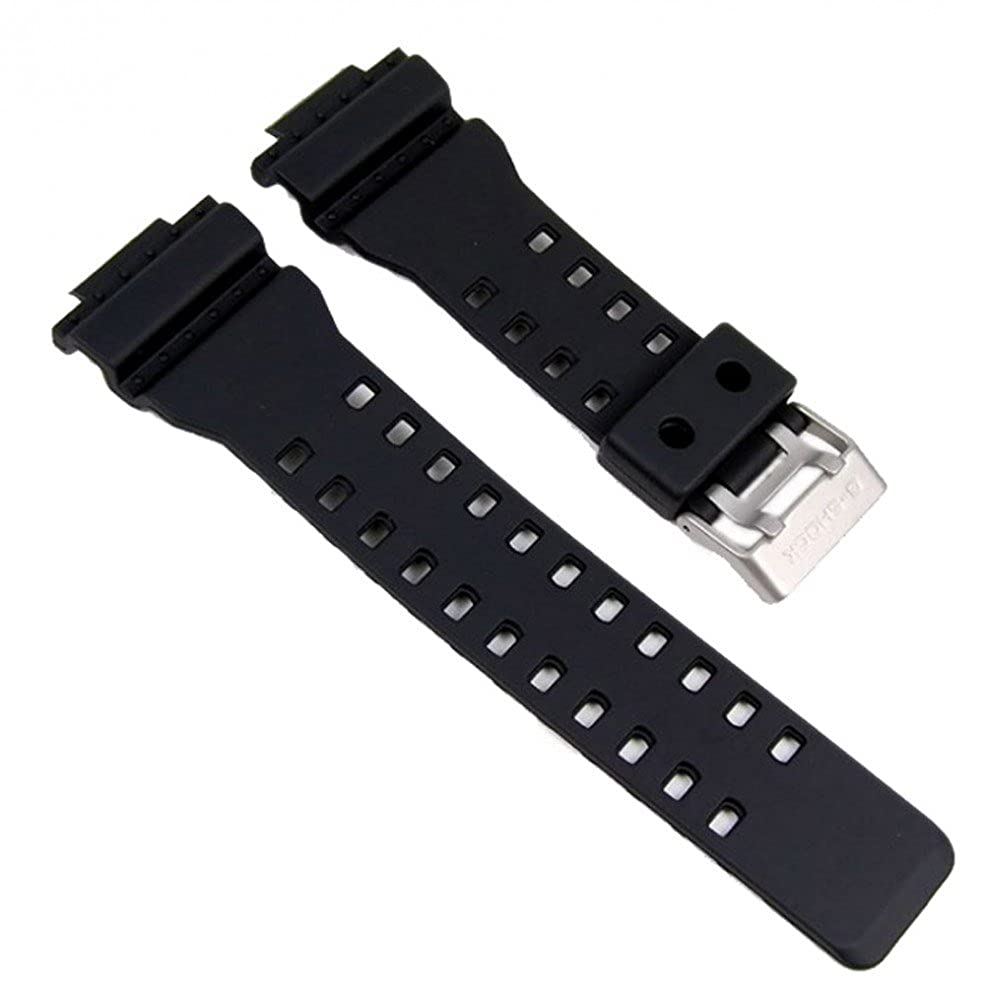 Casio Ga 100 Black Resin Watch Strap