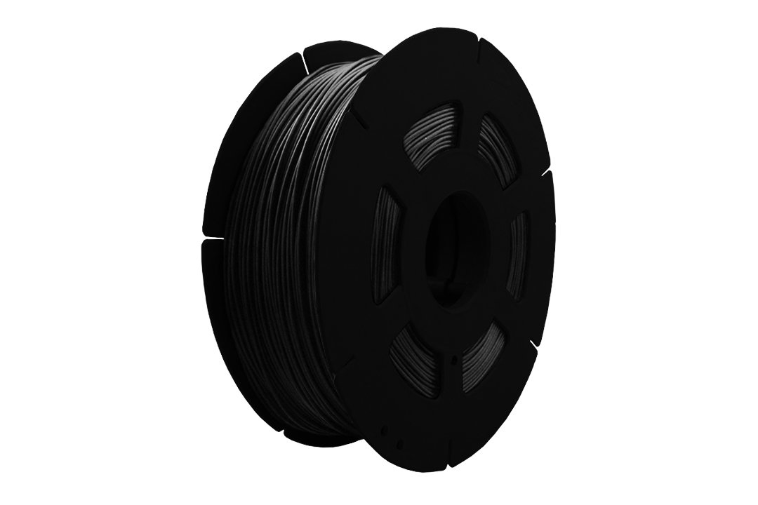 3D Drucker 1kg Filament Rolle PLA 1, 75mm in Schwarz (B-Ware) Space