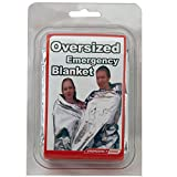 71x142 Inch Oversized Emergency Blanket, Emergency Zone...
