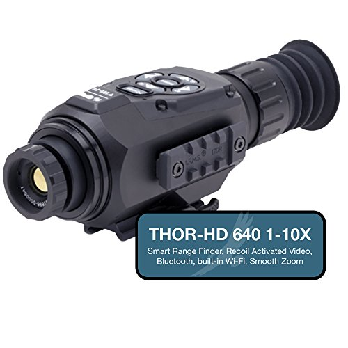 ATN THOR-HD 640 Thermal Imaging Rifle Scope, up to 10x Magni