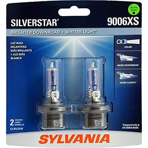 Headlights Sylvania Halogen (SYLVANIA 9006XS SilverStar High Performance Halogen Headlight Bulb, (Contains 2 Bulbs))