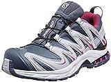 Salomon Womens XA Pro 3D GTX Trail Running Sneaker Shoe, Grey/Purple, 7 For Sale
