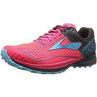 Brooks Mazama Womens Trail-Running Shoes (Diva Pink/Anthracite/Bluefish)