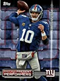 2015 Topps Past and Present Performers #PPPMSI Eli Manning / Phil Simms - New York Giants (NFL Football Card)