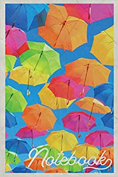 Descargar Notebook: Paraguas Colorful Composition Book Journal Diary For Men, Women, Teen & Kids Vintage Retro Design Street Art Epub Gratis
