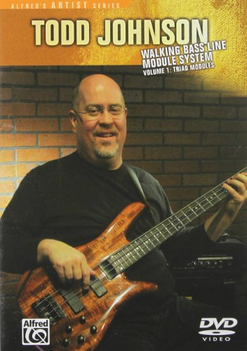 Todd Johnson: Walking Bass Line Module System, Vol. 1 - Triad Modules (Johnson Bass)