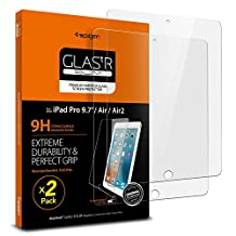 Spigen iPad 9.7 Screen Protector / iPad Pro 9.7 / iPad Air 2 / iPad Air Tempered Glass 2 Pack for Apple iPad 9.7 inch / iPad Pro 9.7 inch / iPad Air 2 / iPad Air