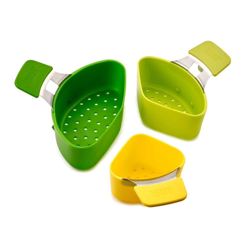 3pcs Steaming Pod with Handle, Vegetables Photos Eggs Steamer - Non Slip Space Saving Kitchen Tool Excellent112