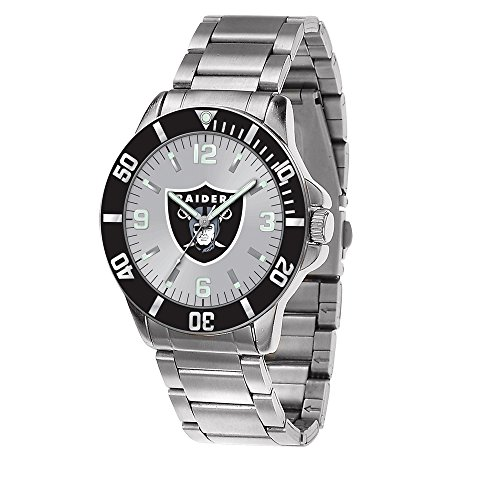 Q Gold Gifts Watches NFL Oakland Raiders Key Watch by Rico Industries
