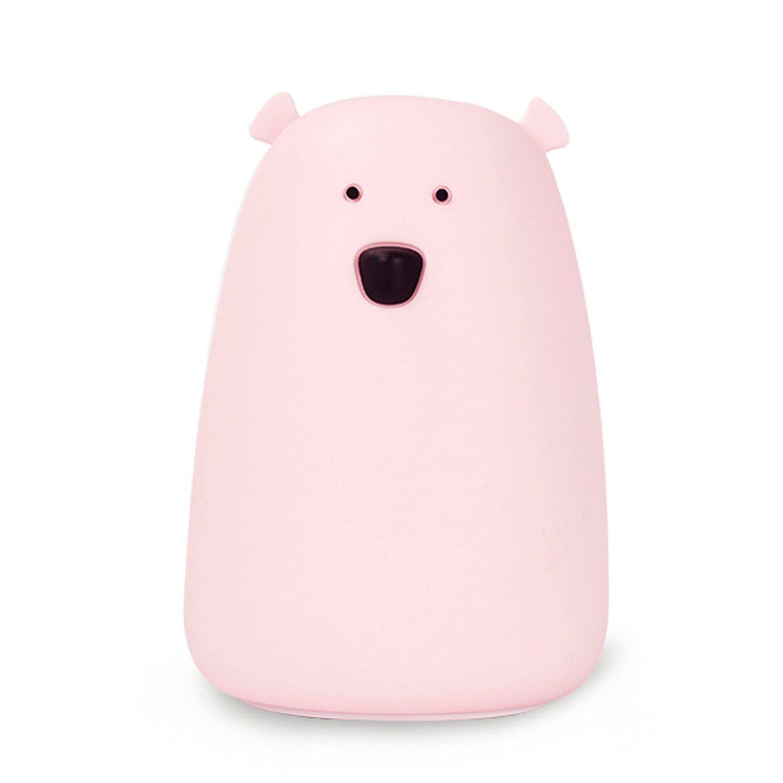 GoLine Bear Night Light。 Big Bear(Lithium Battery) ピンク GL-NL017-PK B07233DNXG 15248 Big Bear(Lithium Battery)|ピンク ピンク Big Bear(Lithium Battery)
