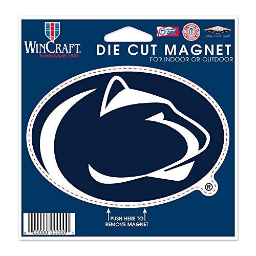 WinCraft NCAA Penn State University Die Cut Magnet, 4.5