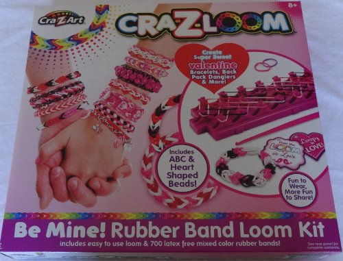Cra-z-loom Be Mine! Rubber Band Loom Kit - Valentines Day