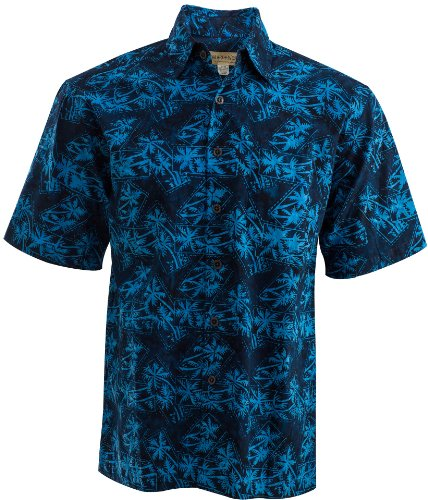 Montego Blue Shirt (M), Blue, Medium, Johari West by Johari West
