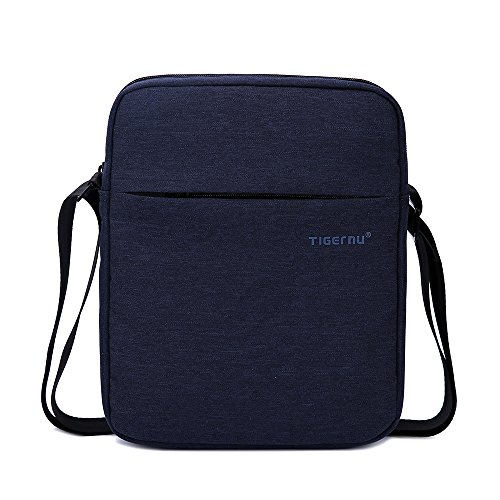 Tigernu Men's Messenger Bag Multi-compartments Briefcase Oxford Nylon Shoulder Bag Fits For 10