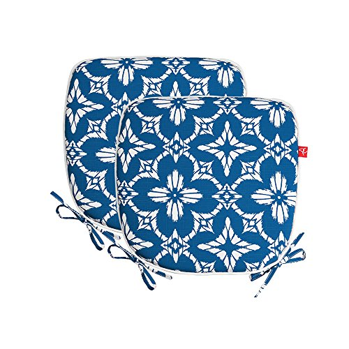 PacifiCasual Indoor/Outdoor All Weather Chair Pads 16