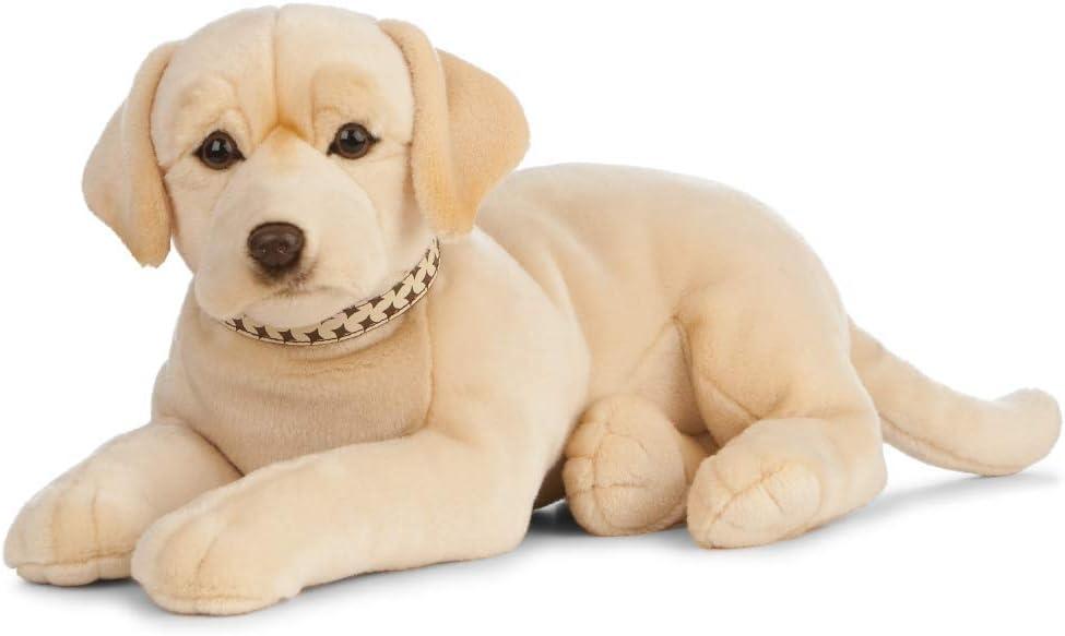Nature-AN482 Living Nature - Peluche gigante para perro labrador, color dorado (60 cm), Keycraft AN482 , color/modelo surtido