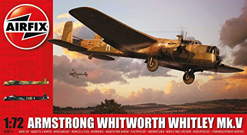 Airfix WWII Armstrong Whitworth Whitley Mk.V Plastic Model Kit (1:72nd Scale)