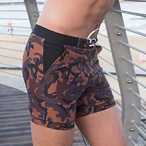 Maillots pour Pantalons de Marron de Pantalons pour sport Boxers de Pantalons de loisirs Vêtements Survêtement hommes de pour hommes de Briefs vêtements Pantalons survêtement Shorts hommes bain Sous loisir bain AqAngxzEwB