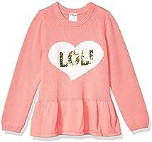 Amazon Brand - Spotted Zebra Girls Peplum Sweaters