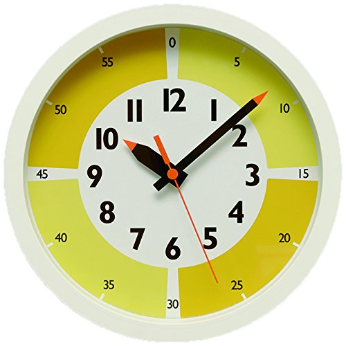 fun pun clock with color! YD15-01 YE B00YP385LYYE