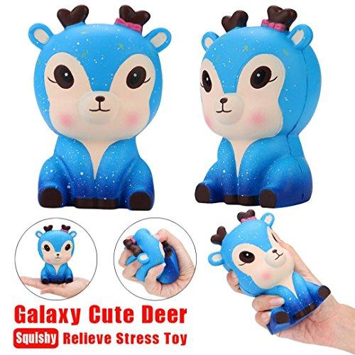 Cerf Galaxy 2018 Neuf Squishy JouetVneirw Vneirw Jumbo toys Qrsdth