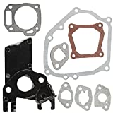 HIPA GX 160 Carburetor Insulator Gasket + Crankcase Cylinder Head Gasket Set for Honda GX160 5.5HP GX200 6HP Engine