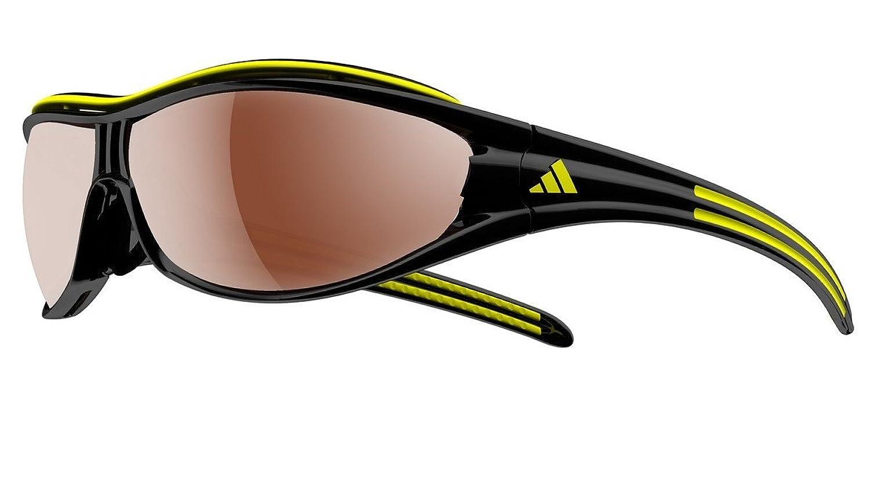 Herren Sonnenbrille adidas Sport eyewear Evil Eye Pro L black/yellow
