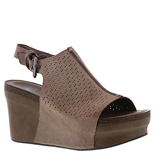 OTBT Women's Jaunt Wedge Shoe (6.5, Grey Powder) by OTBT