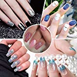 Surepromise Mix Colors Eyeshadow Makeup Nail Art
