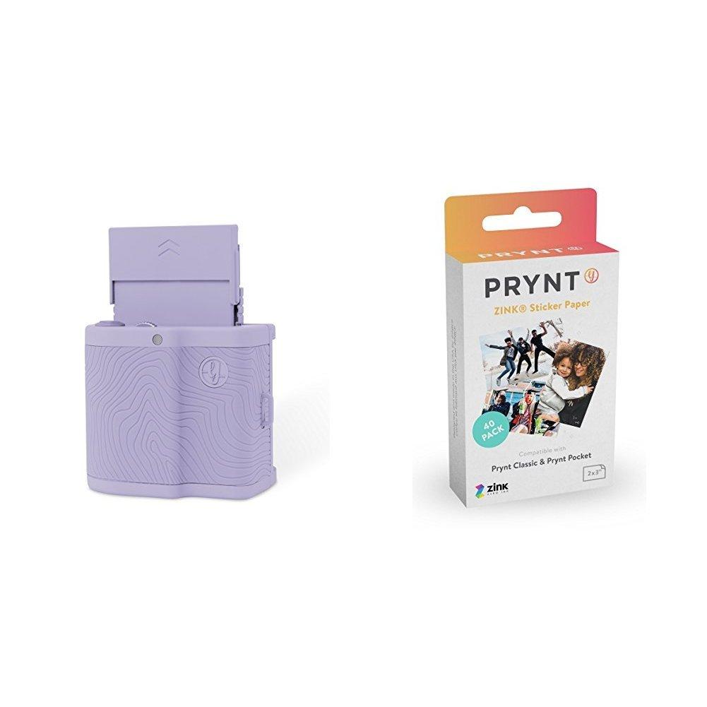 Prynt Pocket Mint Green w/ Prynt ZINK Sticker Paper