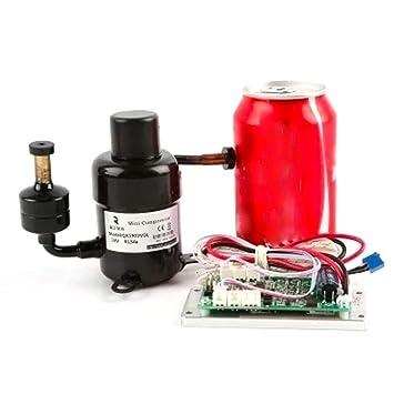 Compresor de velocidad variable en miniatura QX1901VDL (12V): Amazon.es: Bricolaje y herramientas