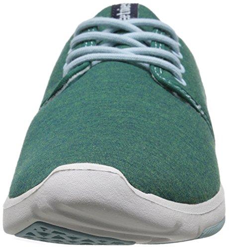 EtniesSCOUT W'S - Zapatillas de Skateboard Mujer Verde (332 / GREEN/ HEATHER)
